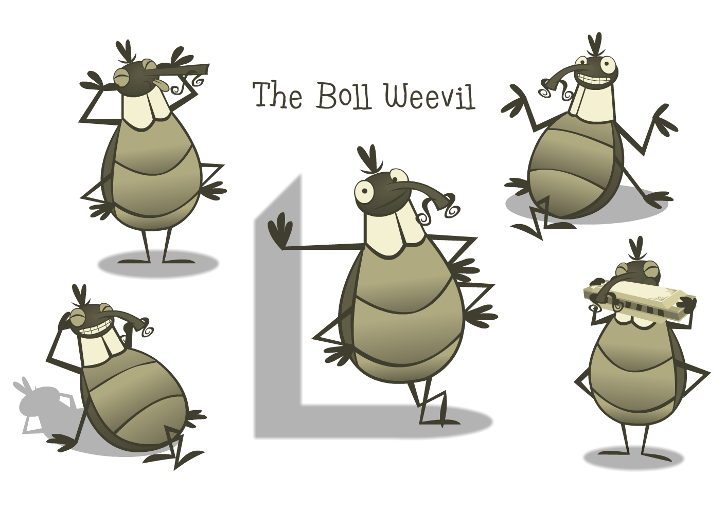 That pesky little eponymous Boll Weevil