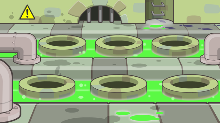 Level 2 BG - The Sewers