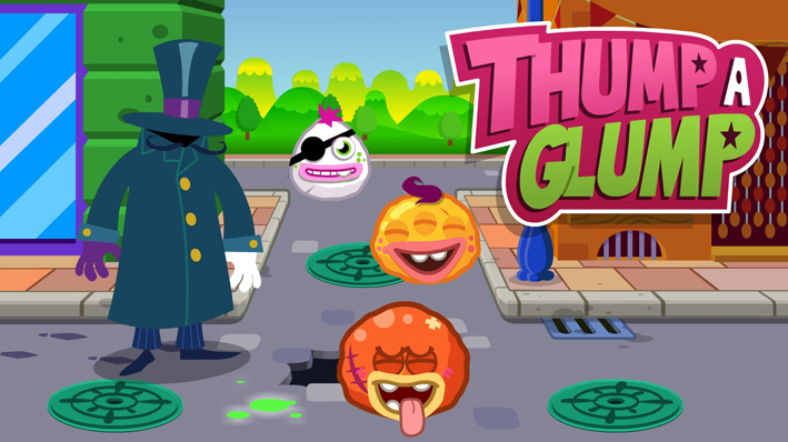 Thump A Glump Game (Moshi Monsters)